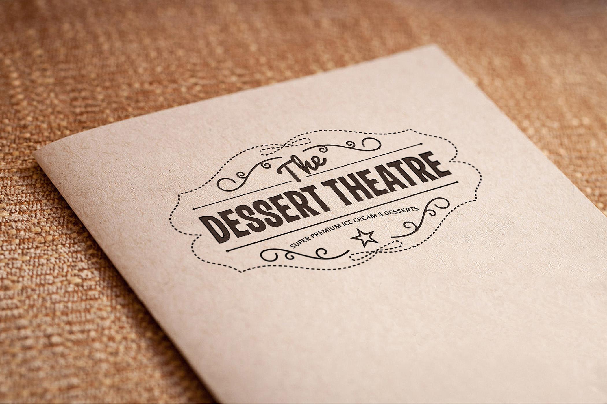 The Dessert Theatre – Concept Branding